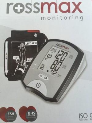 Rossmax MJ701 Bp Monitor(white&black)