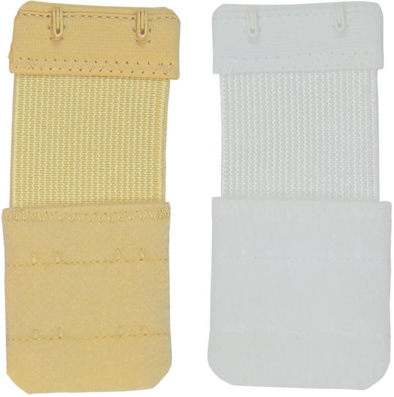 Muquam 2 Hook Strap Extender(Beige, White Pack of 2)