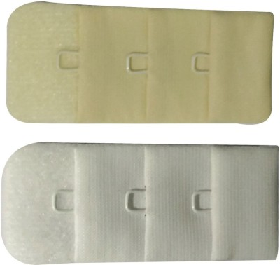 Bralux Hook Extender(White, Beige Pack of 2)