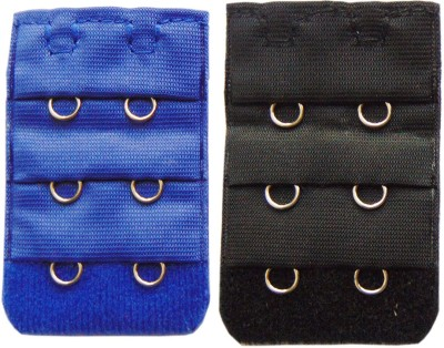 AayanBaby 2 Hook Strap Extender(Black, Blue Pack of 2)