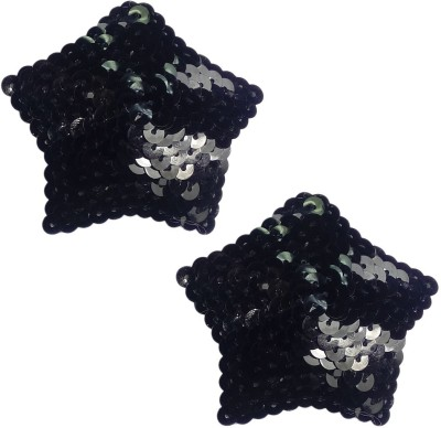 AayanBaby Reusable Star Polyester, Nylon Peel and Stick Bra Petals