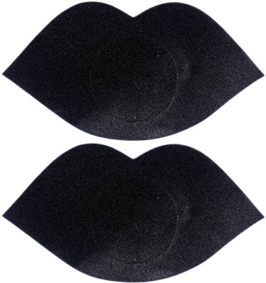 AayanBaby Black Lips Polyester, Spandex Peel and Stick Bra Petals