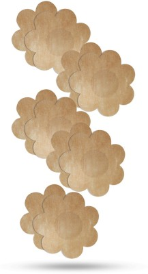 Blush Hearts No-Show Concealers (Disposable) Flower Shape Muslin Peel and Stick Bra Petals