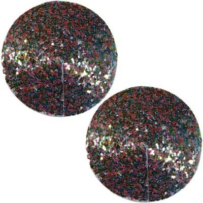 Muquam Multicolor Reusable Round Polyester, Nylon Peel and Stick Bra Petals