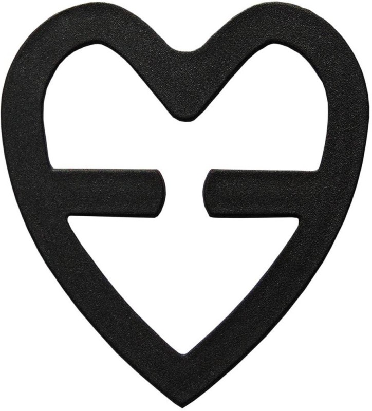 STYLISH ME Heart Shape Racerback Converter(Nylon Pack of 1)