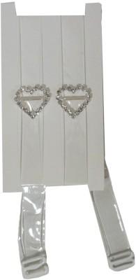 Muren Fabric Bra Straps(Bra Straps Silver, Pack of 1)