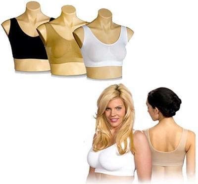 Harshita Air Bra Women's T-Shirt Multicolor Bra at flipkart