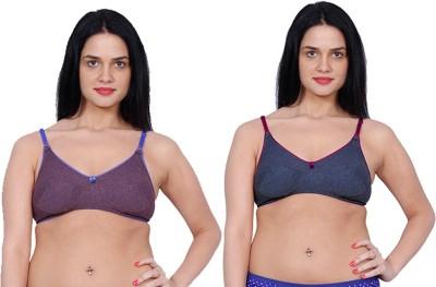Aloft Mansisha Women's Full Coverage Purple, Blue Bra