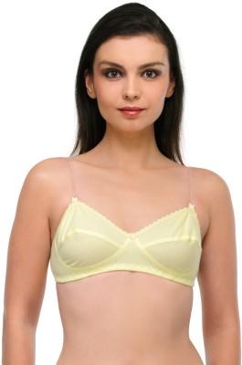 Oleva Women's Full Coverage Yellow Bra at flipkart