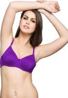 Clovia Non Wired Bra In Purple Jam Women