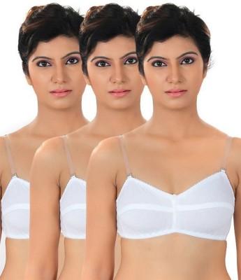 Shoba Women's Tube White Bra