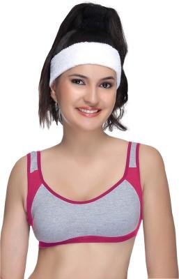 Alishan Sportic Women's Sports Pink Bra