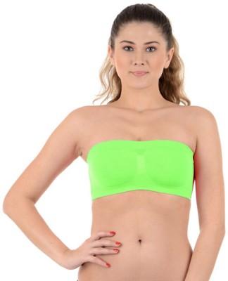 Kat Wears Women's Tube Green Bra