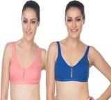 Lenity Pro Women's Sports Pink, Blue Bra