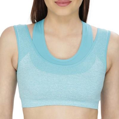Secret Wish by Secret Wish Women's Sports Green Bra