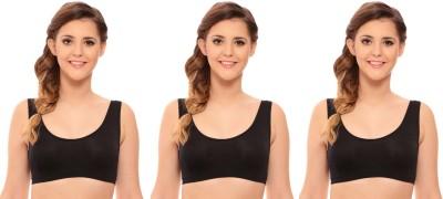 La Melodia by La Melodia - MayFlair Women's Sports Black Bra