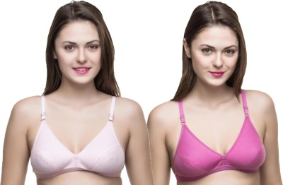 Docare Trendy Women's Full Coverage Pink Bra