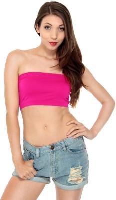 Fashionline Women's Tube Pink Bra