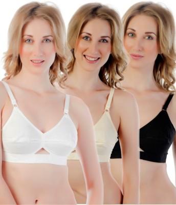 Centra Pro Women's Full Coverage White, Beige, Black Bra