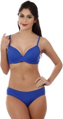 Vishwakarma Choice Women's Plunge Blue Bra