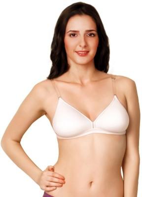 Vishwakarma Choice Women's Plunge White Bra
