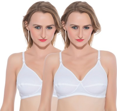 Shilpa Shreya Women's Full Coverage White Bra