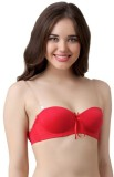 Queen Women's Push-up Red Bra