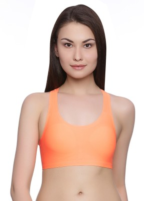 Rosaline by Zivame - Pro Women's Bralette Orange Bra at flipkart