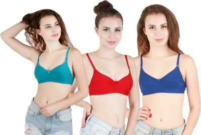 6e5bb4abf11 Montobello Women's Full Coverage Multicolor Bra