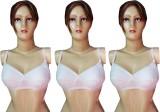 Body Liv Women's Full Coverage White Bra