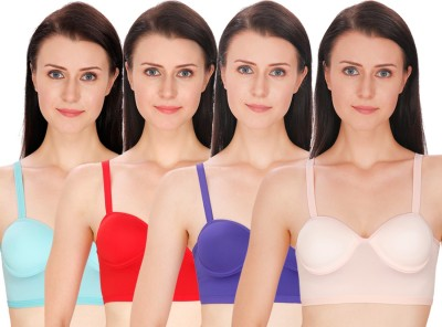 Akin Women's Bralette Multicolor Bra at flipkart