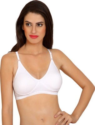 owomaniyah Women's Full Coverage White Bra