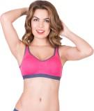 Azeeva Girl's Sports Pink Bra