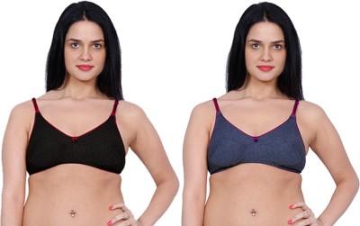 Aloft Mansisha Women's Full Coverage Grey, Blue Bra