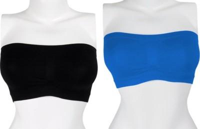 Our Rituals CDBB10 Women's Tube Black, Blue Bra