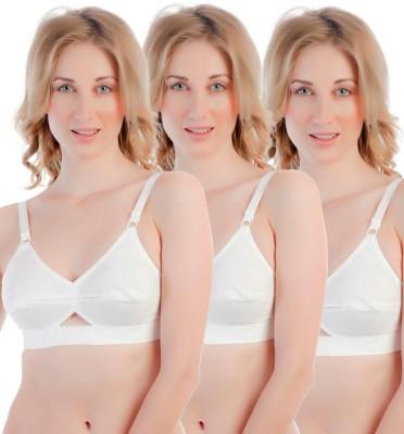 Centra Pro Women's Full Coverage White Bra