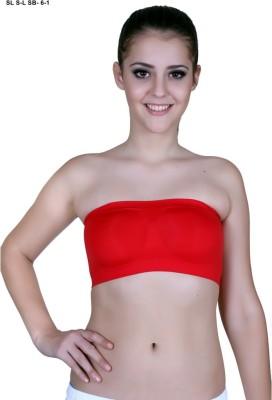 SLS Women's Tube Red Bra