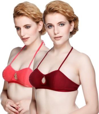 Nutex by Insaler Women,s Full Coverage Maroon, Pink Bra
