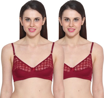 Colors Maroon Women's Full Coverage Maroon Bra