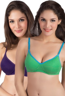 Tweens by Belle Lingeries - Full Coverage Padded Women,s T-Shirt Multicolor Bra