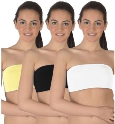 99DailyDeals Women's Tube Multicolor Bra
