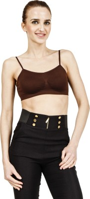 Sidh Rapstyle Women's Full Coverage Brown Bra