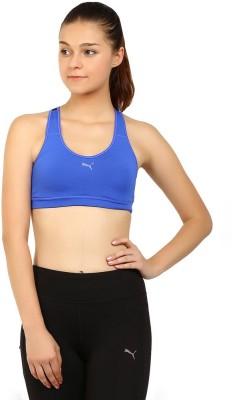 Puma PWRSHAPE Cardio Women's Sports Blue Bra