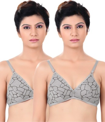 S4S Stylish Women,s Push-up Grey Bra