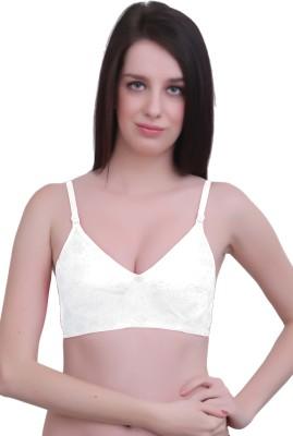 JSR Paris Beauty Pro Women's Full Coverage White Bra