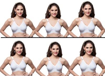 Skiva Women's Full Coverage White Bra