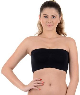 Kat Wears Women's Tube Black Bra