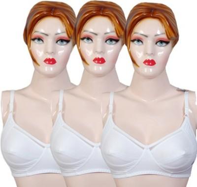 Versa Women's Full Coverage White Bra