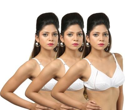 Body Liv NARGIS-3 Women's Full Coverage White Bra