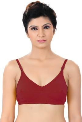 S4S Stylish Women's Full Coverage Red Bra